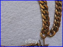 Chanel Authentic Vintage Gold Charms Chain Belt